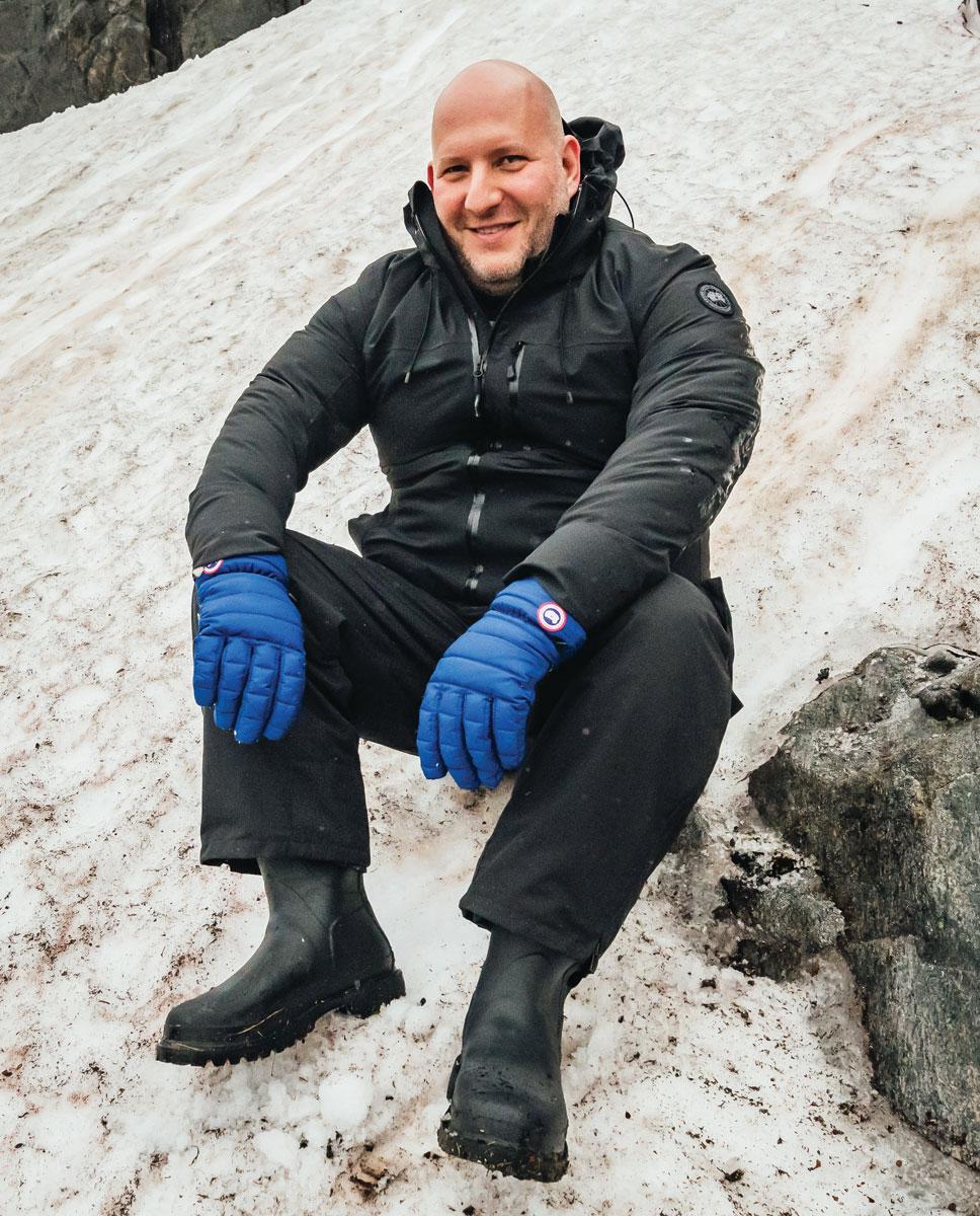 Dani Reiss是Canada Goose的現任CEO和董事長