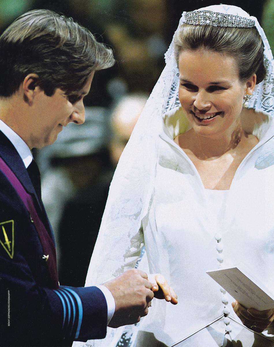 Vermeulen為瑪蒂爾德皇后設計的婚紗常被時尚博主和網友 們讚為最令人難忘的皇室高級定製禮服之一