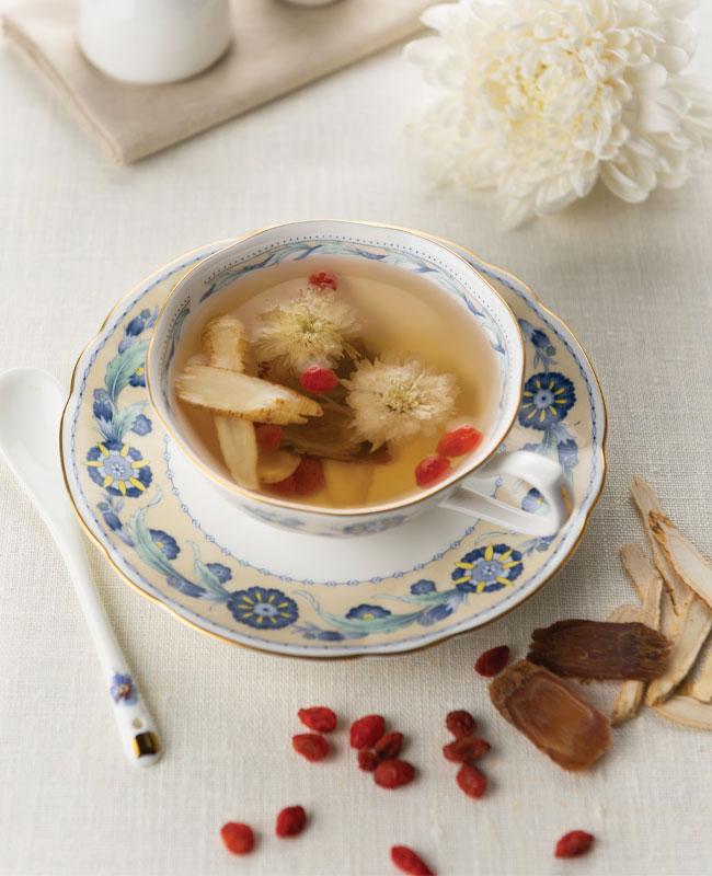 Chrysanthemum Goji Recipe